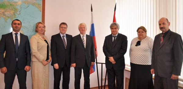 Meeting with ASMC representatives in Moscow