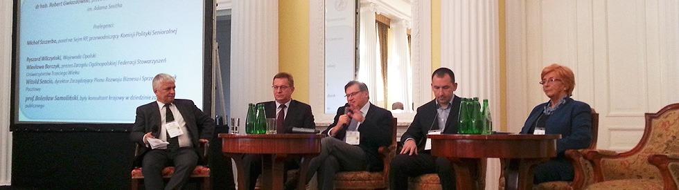 1. Kongres Gospodarki Senioralnej w Warszawie