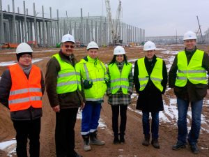 HSE at construction site of VW Wrzesnia, Poland