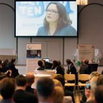 message of greeting from patron Andrea Nahles