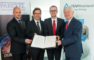 TÜV Rheinland Academy cooperates with PAREXEL